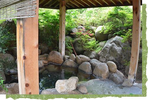 信州の秘湯大町葛温泉の湯